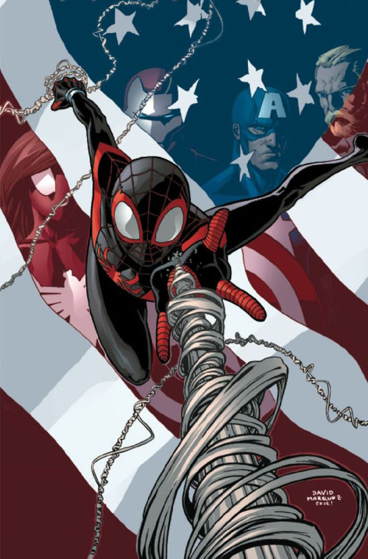 Miles morales the only spiderman i read ultimate