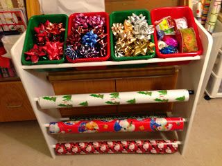 Re-purpose Project: Toy Organizer to Wrapping Station In Just 5 Easy Steps!