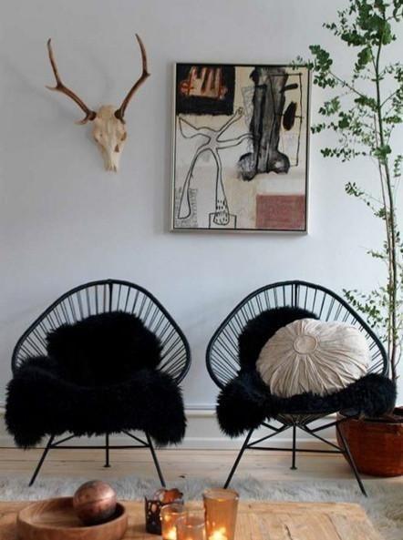 Innit designs acapulco lounge chair black or white frame for Friesenhaus modern einrichten
