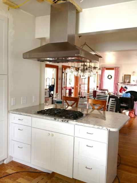 Installing an island hood vent For the Home Pinterest Kitchen