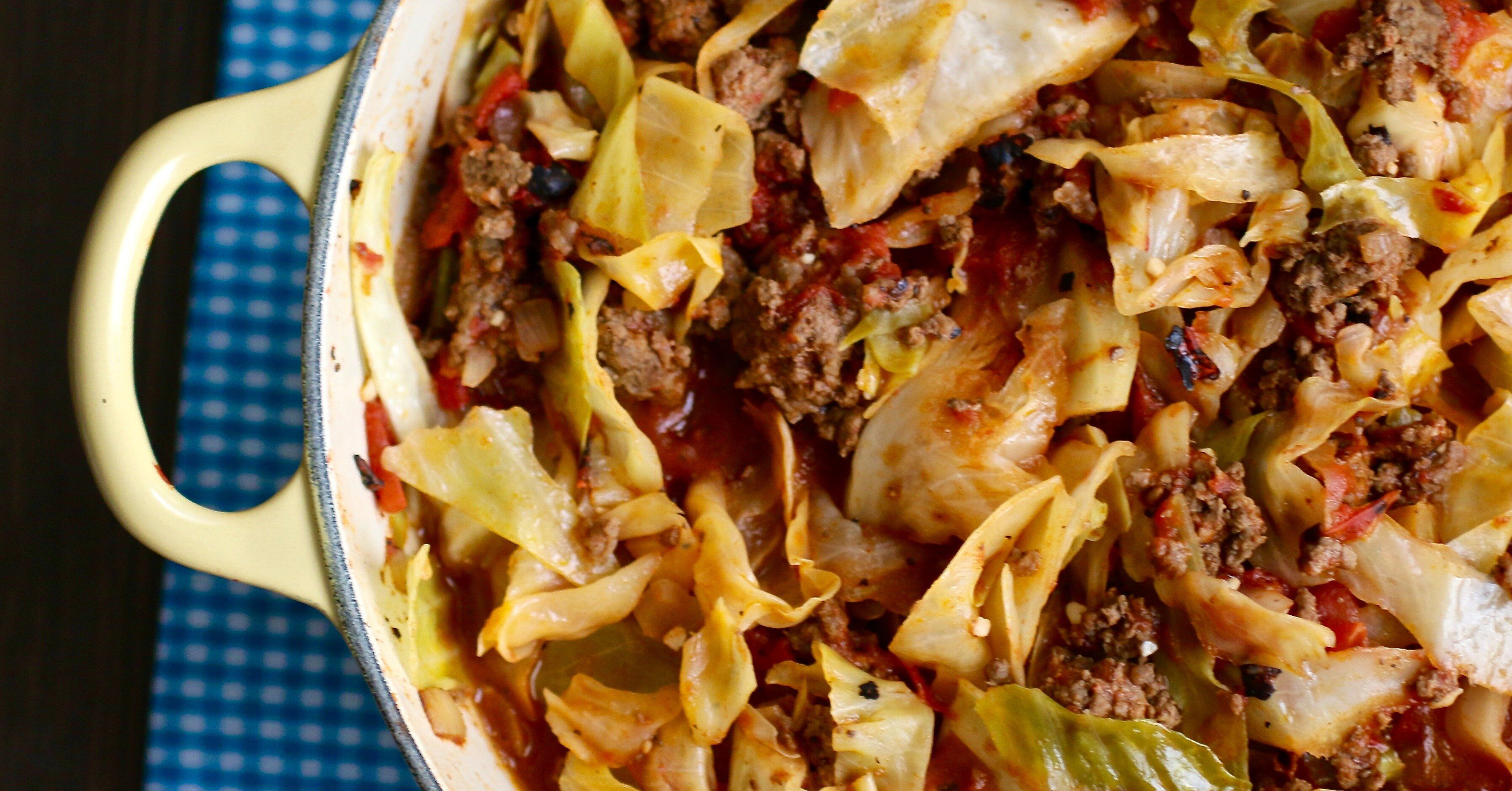 Unstuffed Cabbage Roll Recipe In 2020 Unstuffed Cabbage Rolls Recipes Unstuffed Cabbage