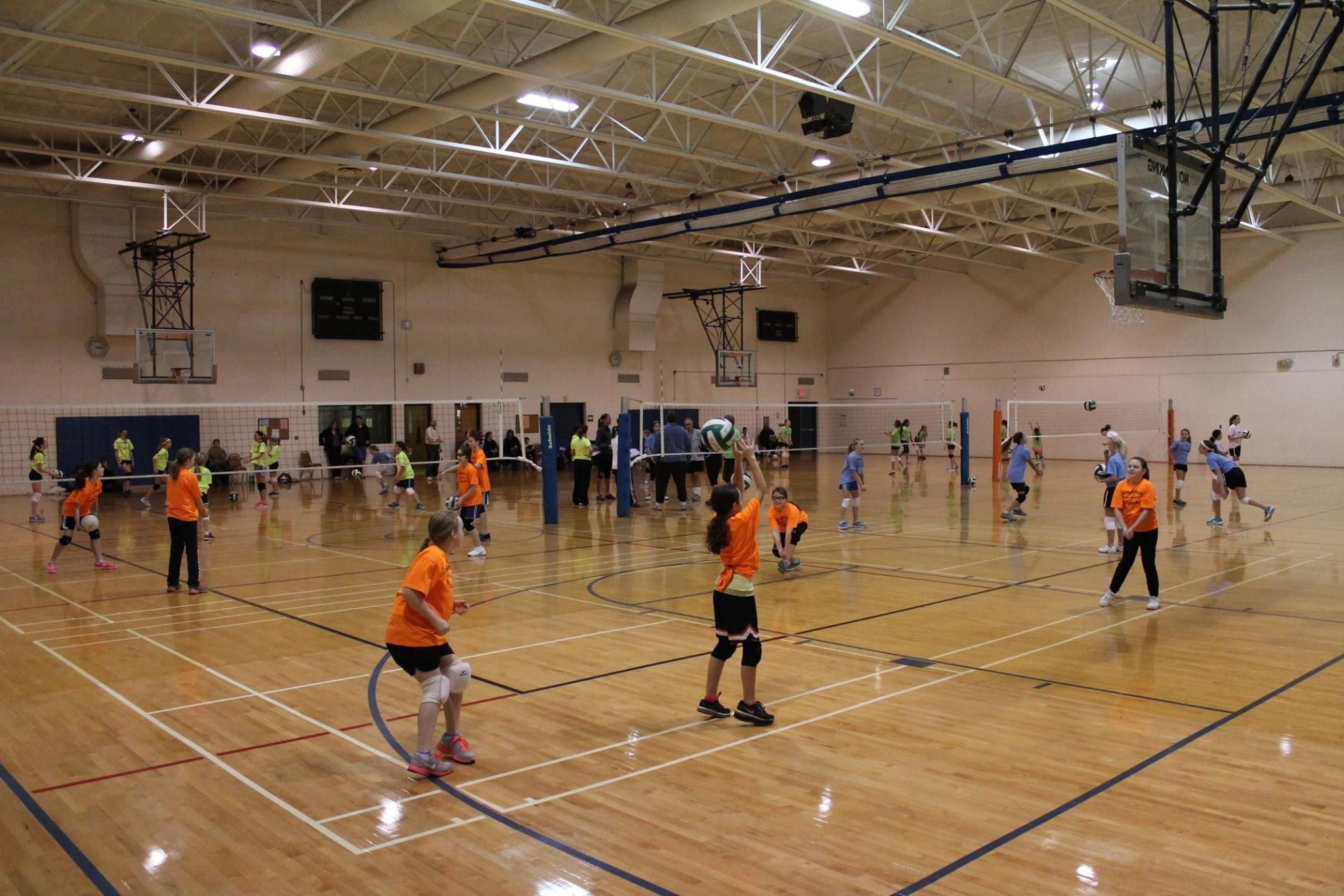 Youth Volleyball Clinics Leagues And Open Volleyball Offered At The Recreation Center At Hillside Northville Youth Volleyball Volleyball Parks And Recreation