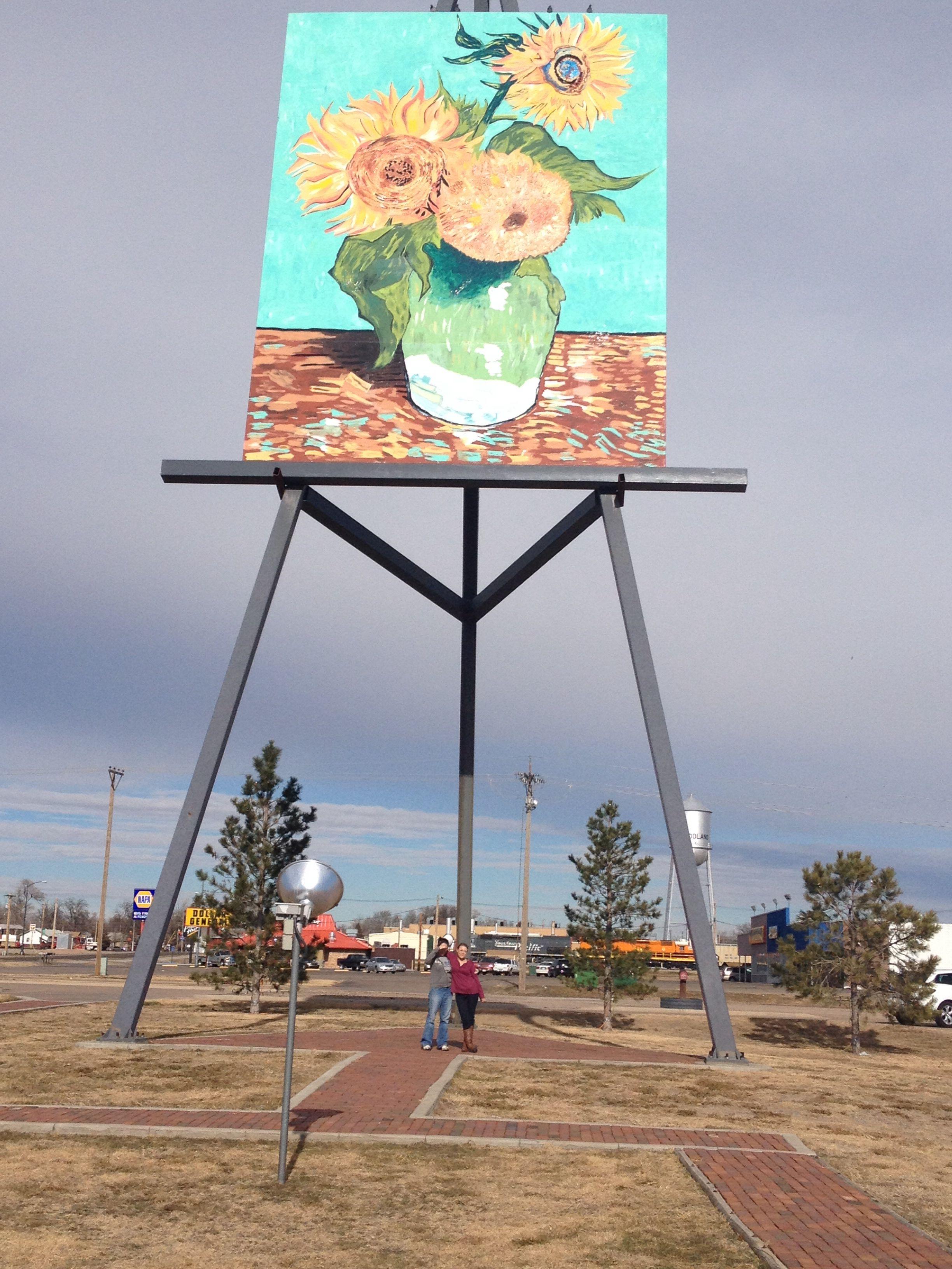 Largest Van Go! Goodland Kansas! Travel! Large