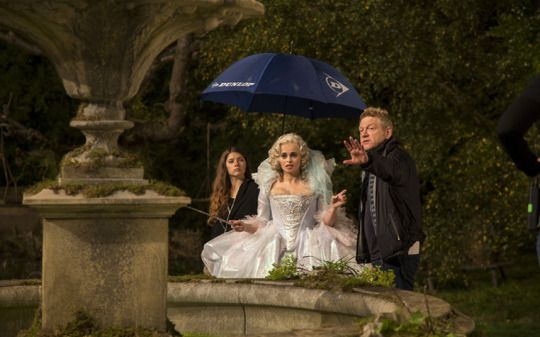 "Cinderella"" dir  Kenneth Branagh behind the scenes with"
