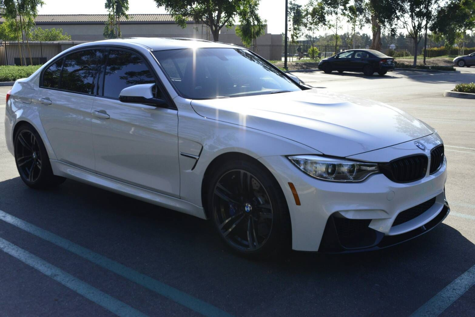 Cool Awesome 2016 BMW M3 Sedan 4 Door Excellent Condition Mineral White  2016 BMW M3