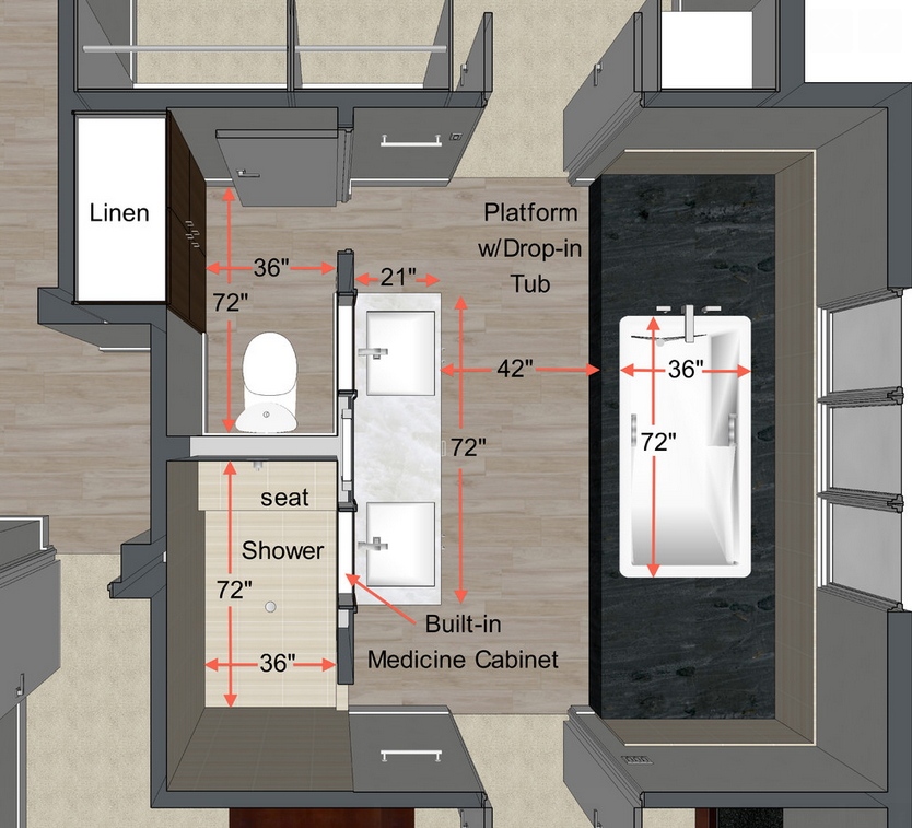 Small Bathroom Layout Plan Salle De Bain Idee Salle De Bain Amenagement Salle De Bain