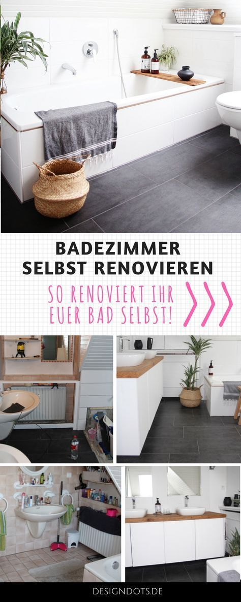 Renovate Bathroom Itself Before After Badezimmer Renovieren Hausrenovierung Bad Renovieren Kosten