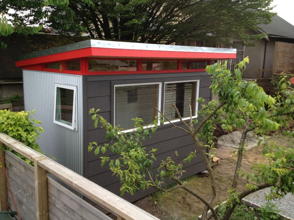 another great modern shed by westcoast outbuildings - Garden Sheds Vancouver