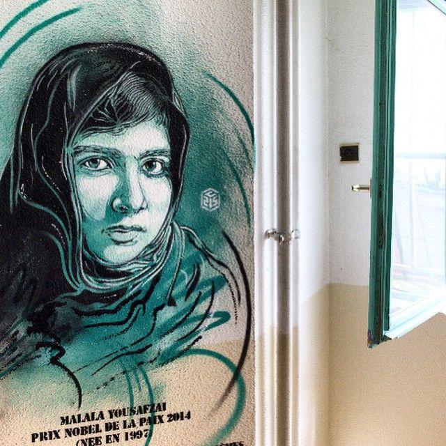 #prison #osny #maisondarret #malala #nobel #peace #c215