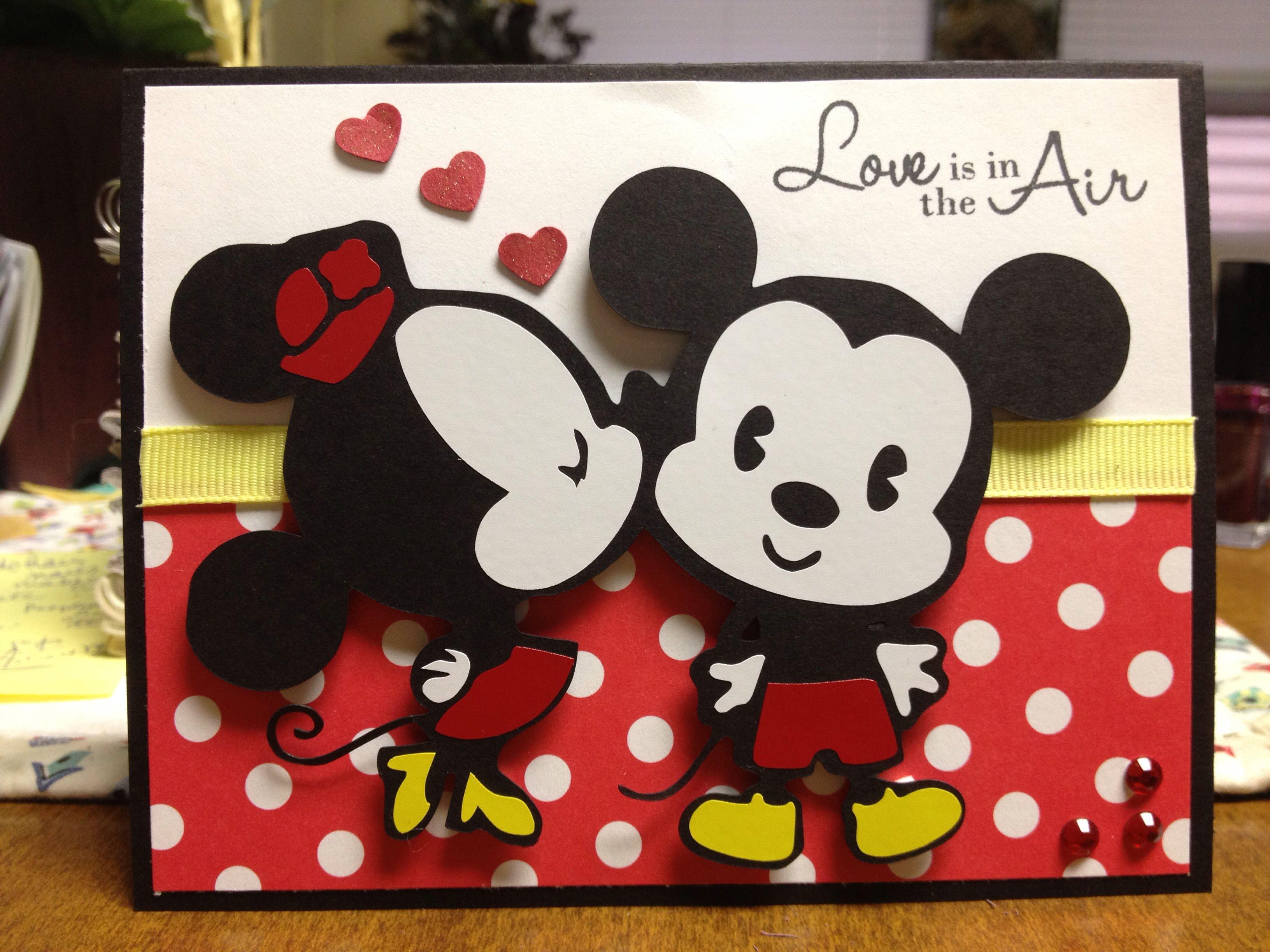 Disney Anniversary Card Anniversary Cards Handmade Diy Anniversary Cards For Parents Diy Disney Cards