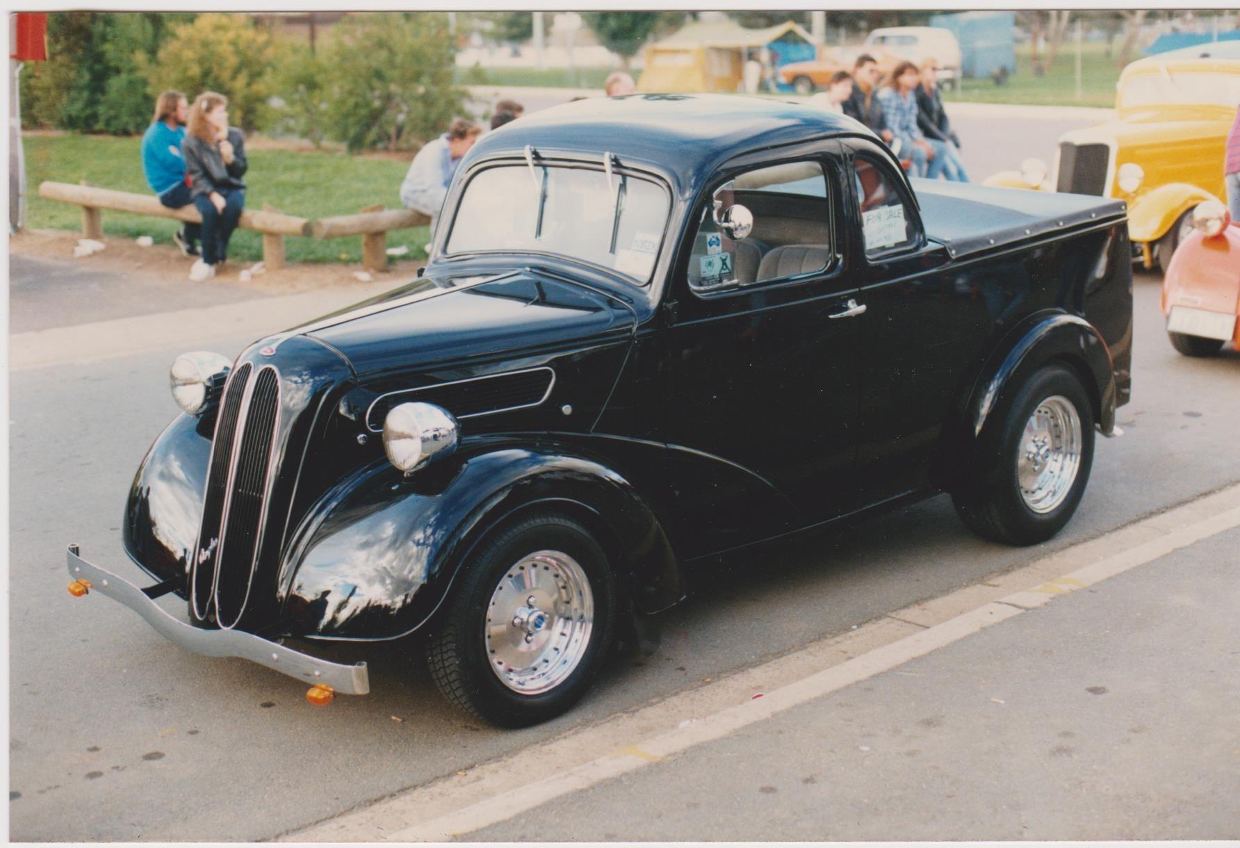 Ford Anglia Coupe Ute, Australian body. Ford anglia, Hot