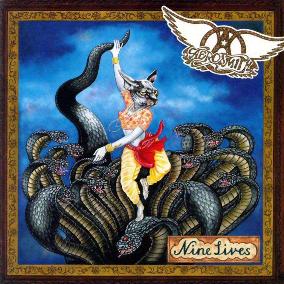Aerosmith Nine Lives Album Cover Art Cover Art Album Covers