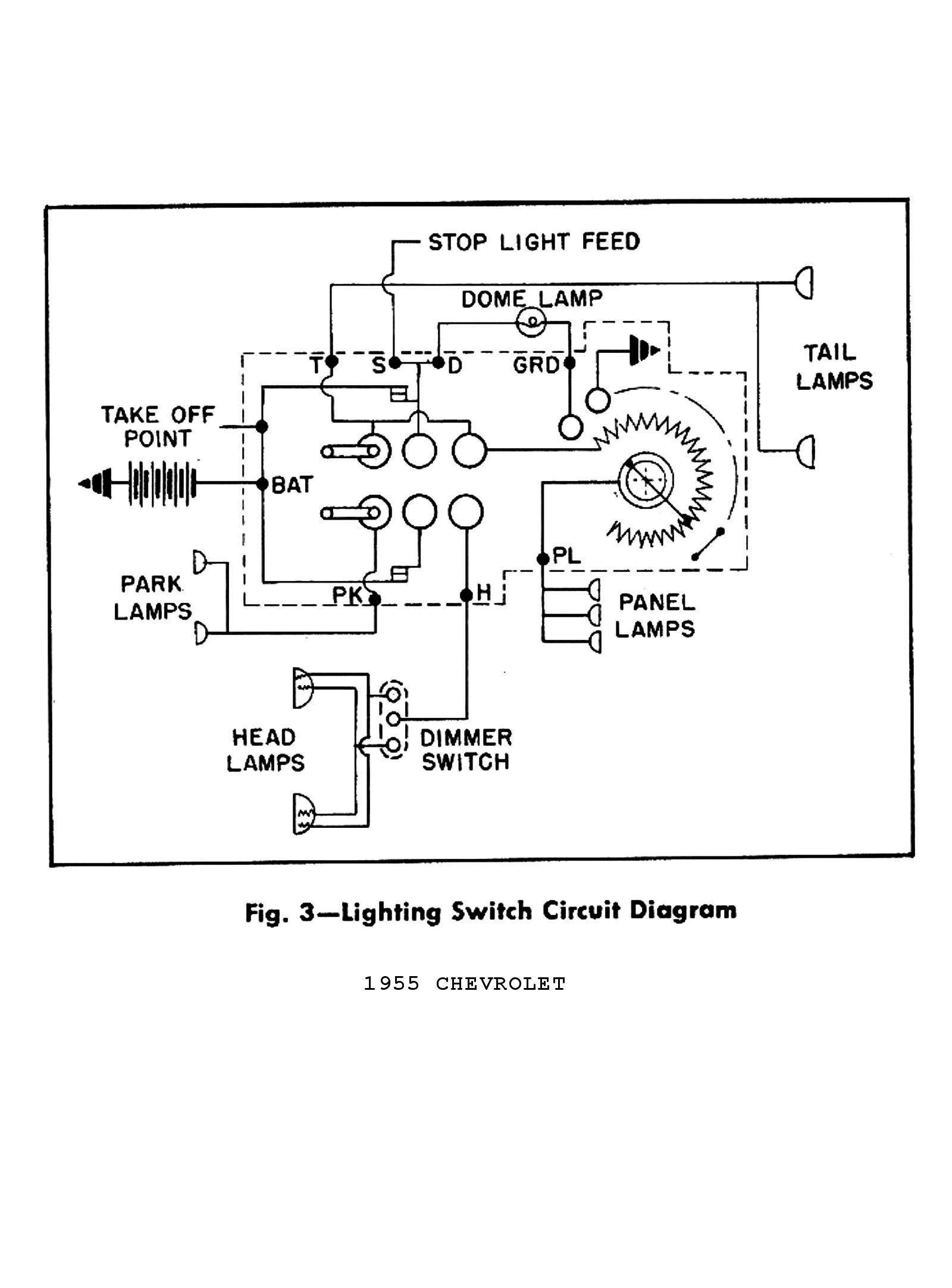 medium resolution of light switch wiring for 55 chevrolet data diagram schematic 51 turn signal switch and wiring question chevytalk free source 1958 chevrolet steering