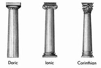 Diagram of a greek column application wiring diagram diagram of doric ionic and corinthian columns www arthistorybabes rh pinterest ca greek columns architecture corinthian ccuart Image collections