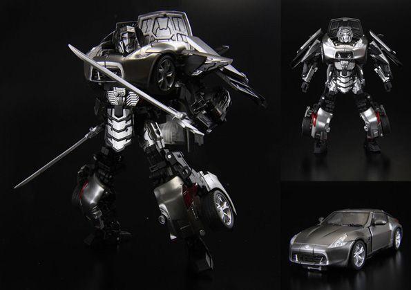 350Z - Silver Streak Transformer