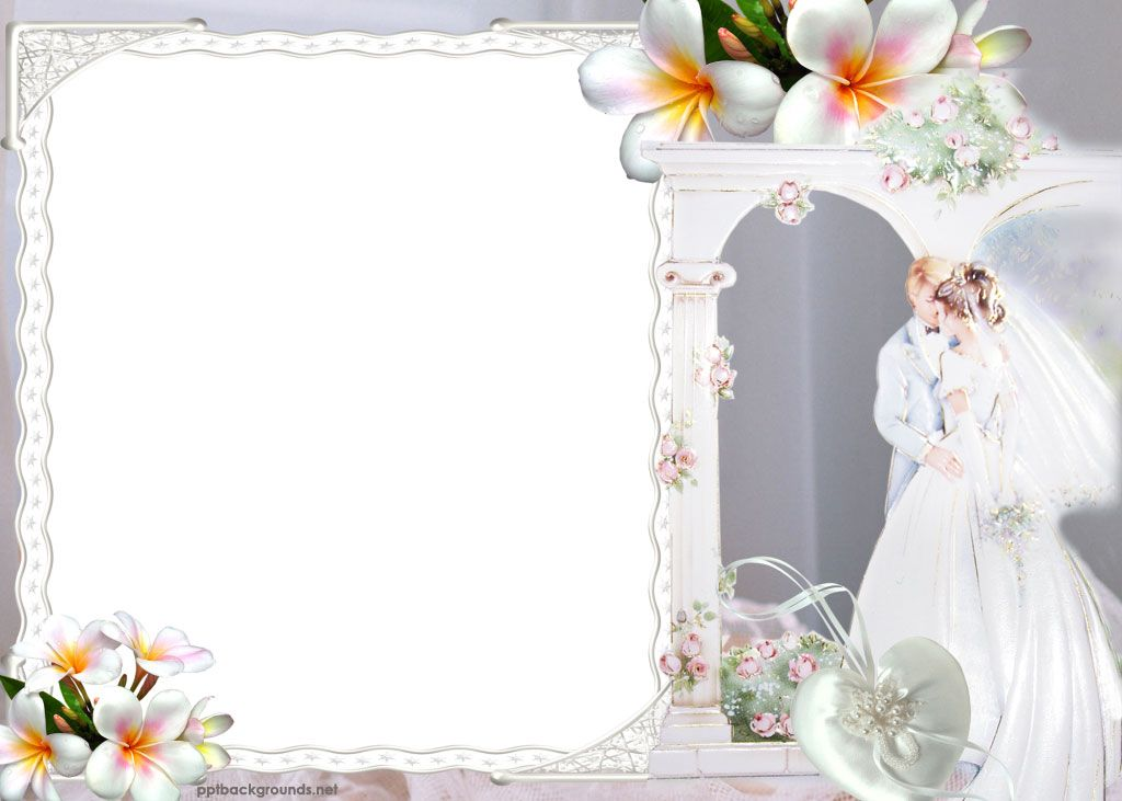 free wallpaper and boarders powerpoint free backgrounds - wedding powerpoint template