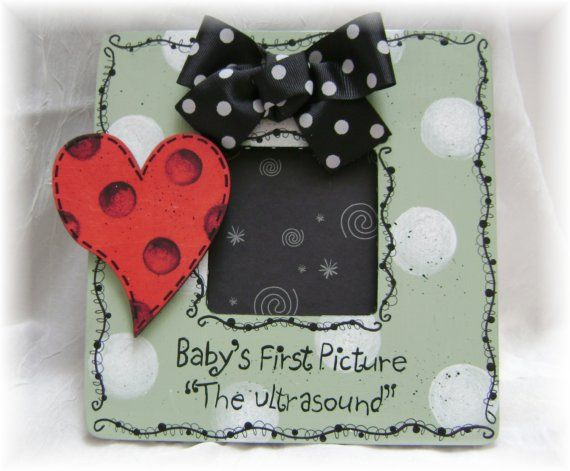 Ultrasound Picture Frame Babys First Picture Baby Shower Ideas