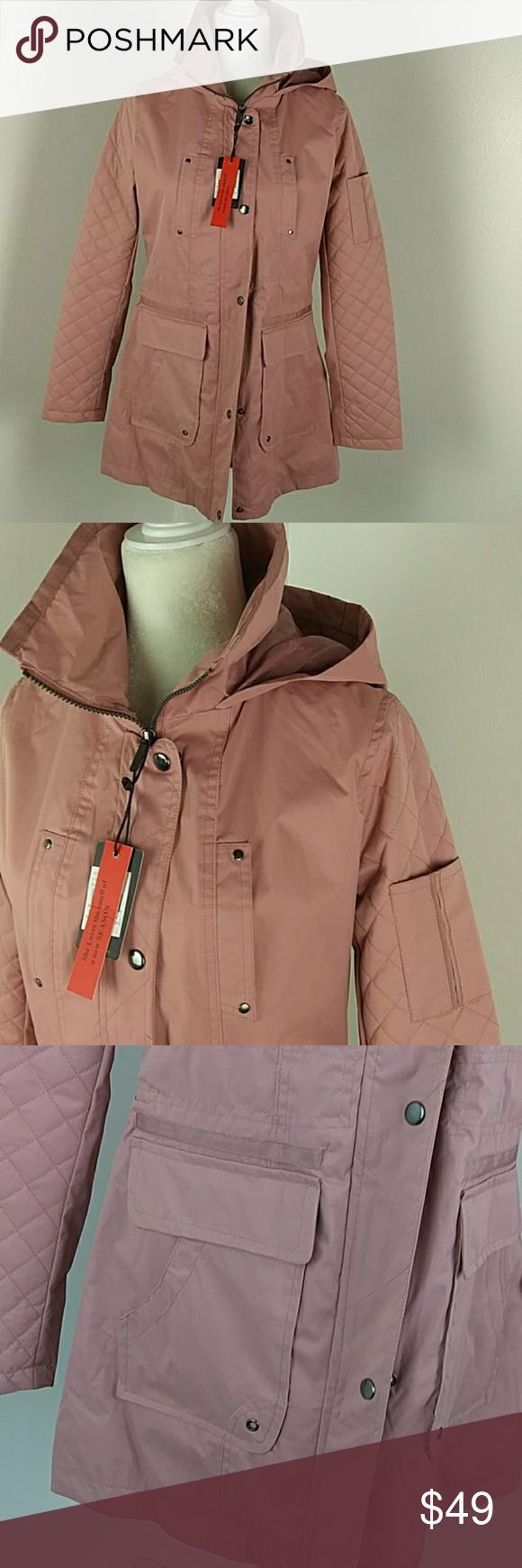 Yoki Outerwear Jacket Pink Hooded Outerwear Jackets Clothes Design Fashion [ 1740 x 580 Pixel ]
