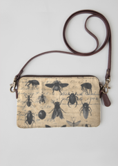 VIDA Leather Statement Clutch - Insects Clutch by VIDA 3KLjyomq