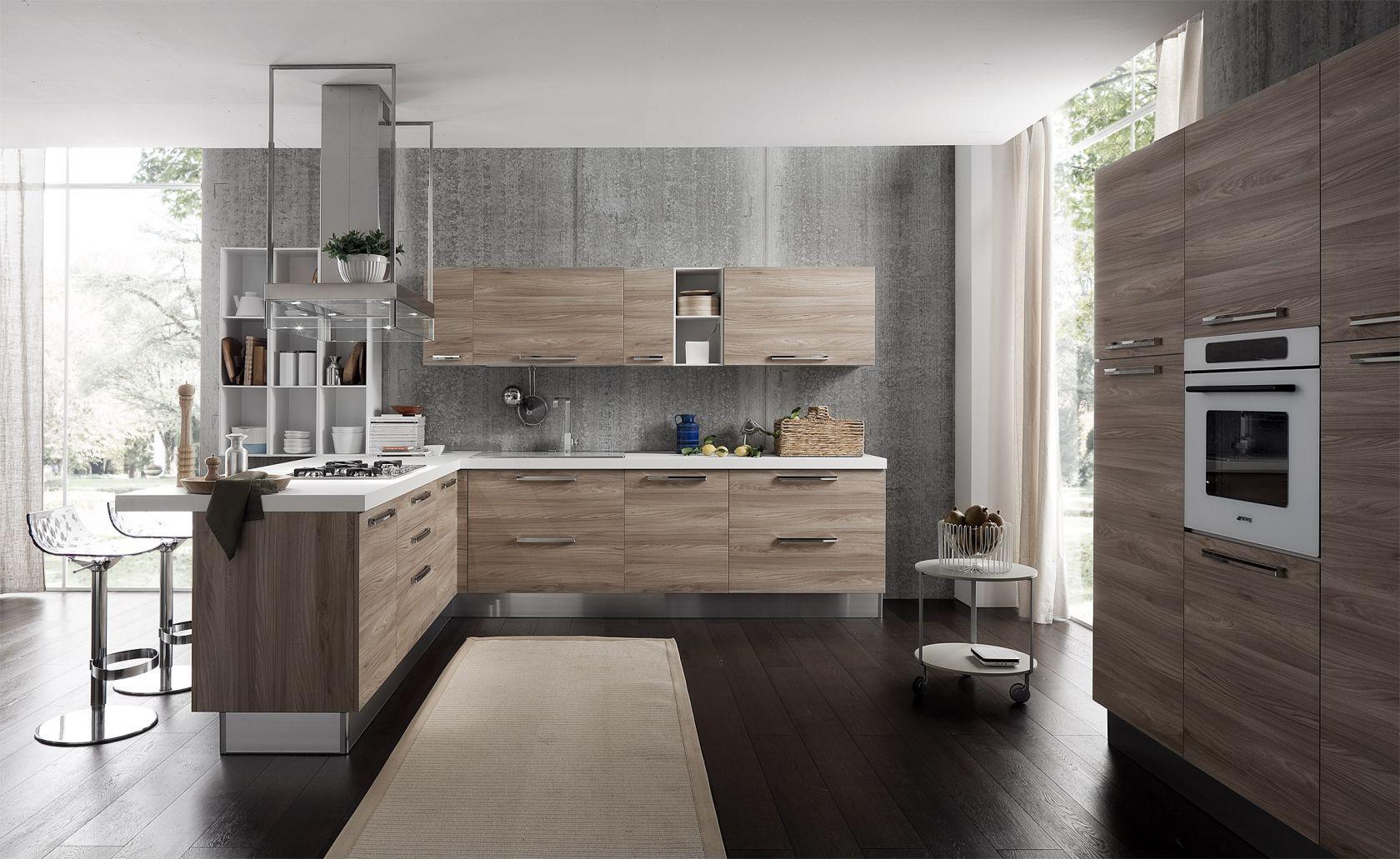 EffeQuattro modern italian kitchen olasz konyhabtor EffeQuattro