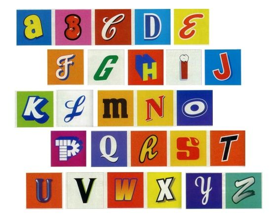 pop art alphabet - add in some Andy Warhol references | let the kids color the letters in different colors.  GOOD WALL DISPLAY (give each kid a letter or two to color)