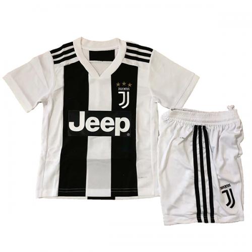 20618f203 Kids Juventus Home Soccer Jersey Kit Children Shirt + Shorts 2018-19 Model   Goal63620 Cheap soccer jerseys on goaljerseyshop.com