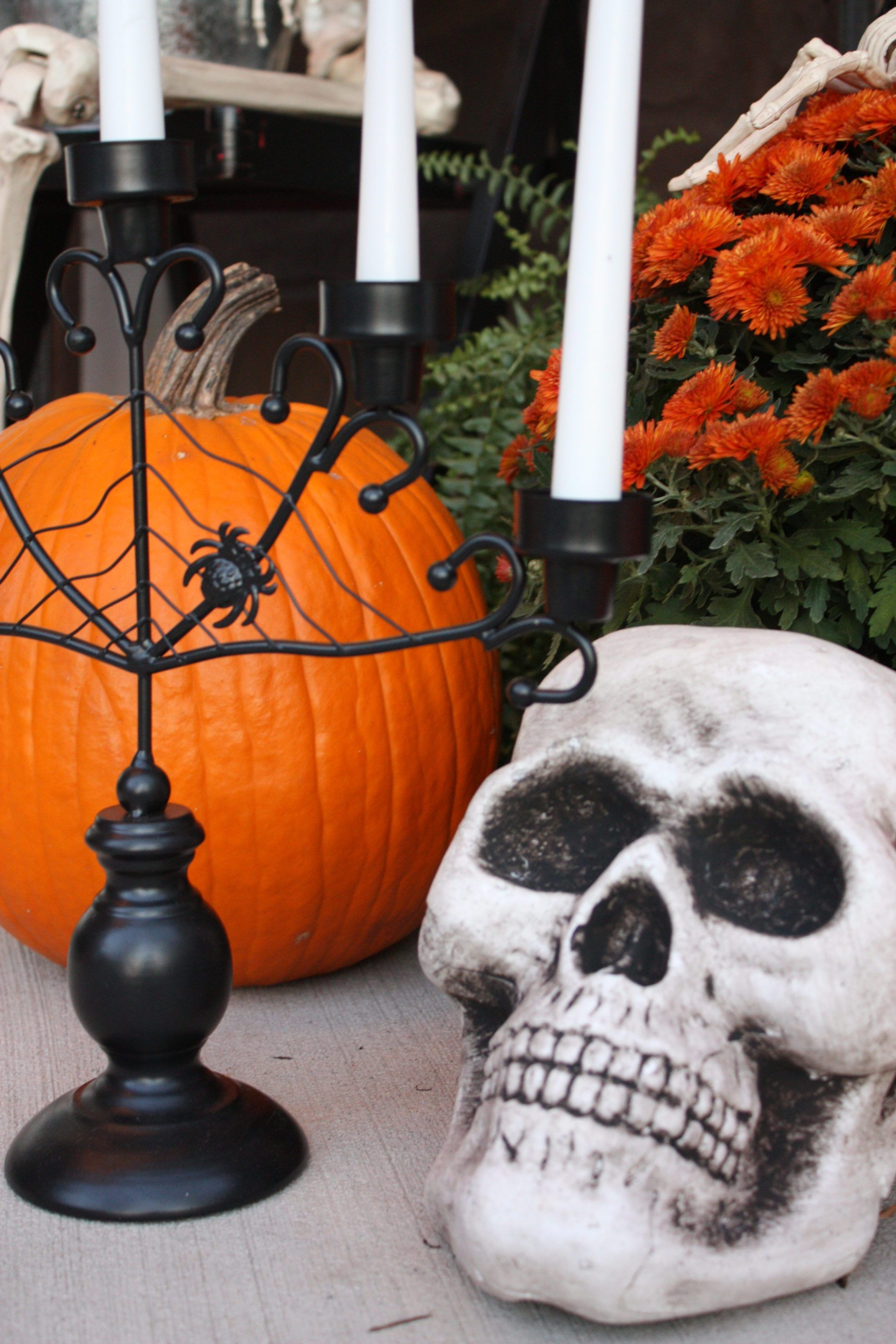 Halloween Front Porch Enter If You Dare Halloween front