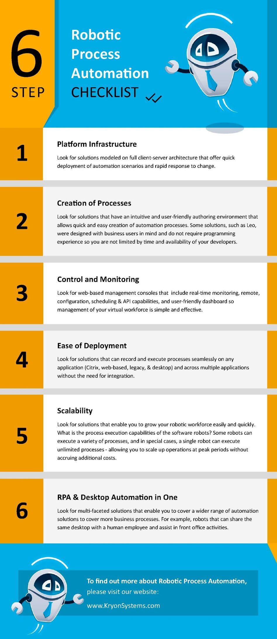 RPA Checklist Essential Criteria for Choosing the Best