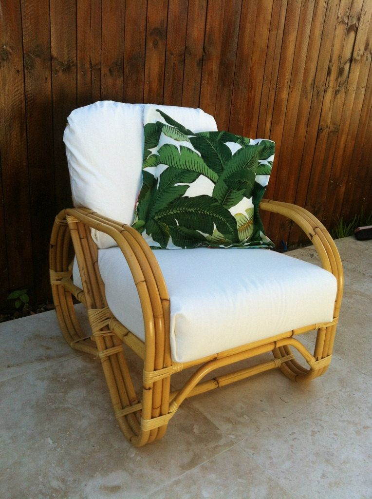 Gorgeous Rare Orignial Cane Vintage Pretzel Chair 850 00 Via Etsy Bamboo Sofa Cane Outdoor Furniture Tropical Furniture