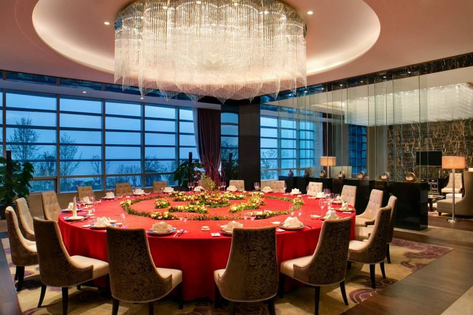 Chinese Restaurant Vip Private Dining Room Kempinski Hotel