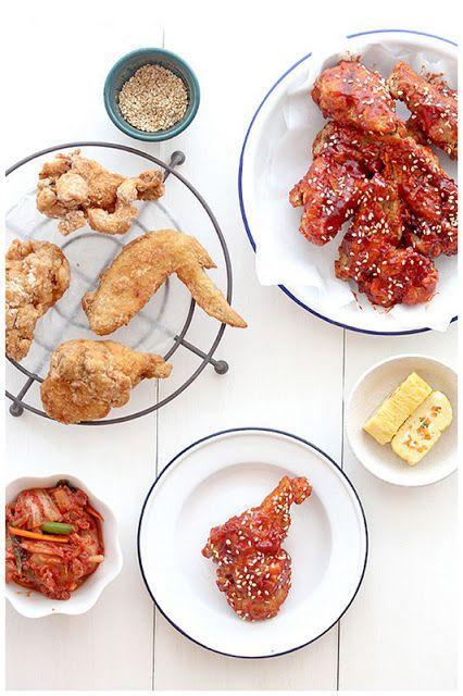 Foodagraphy. By Chelle.: 양념통닭 (Yangnyeom Tongdak)