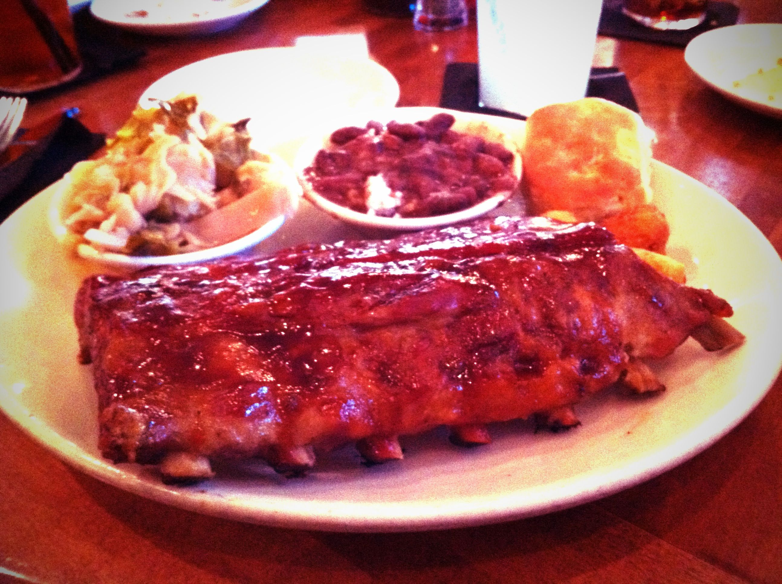 The Pit BBQ, Raleigh. The ribs were not as good as ...