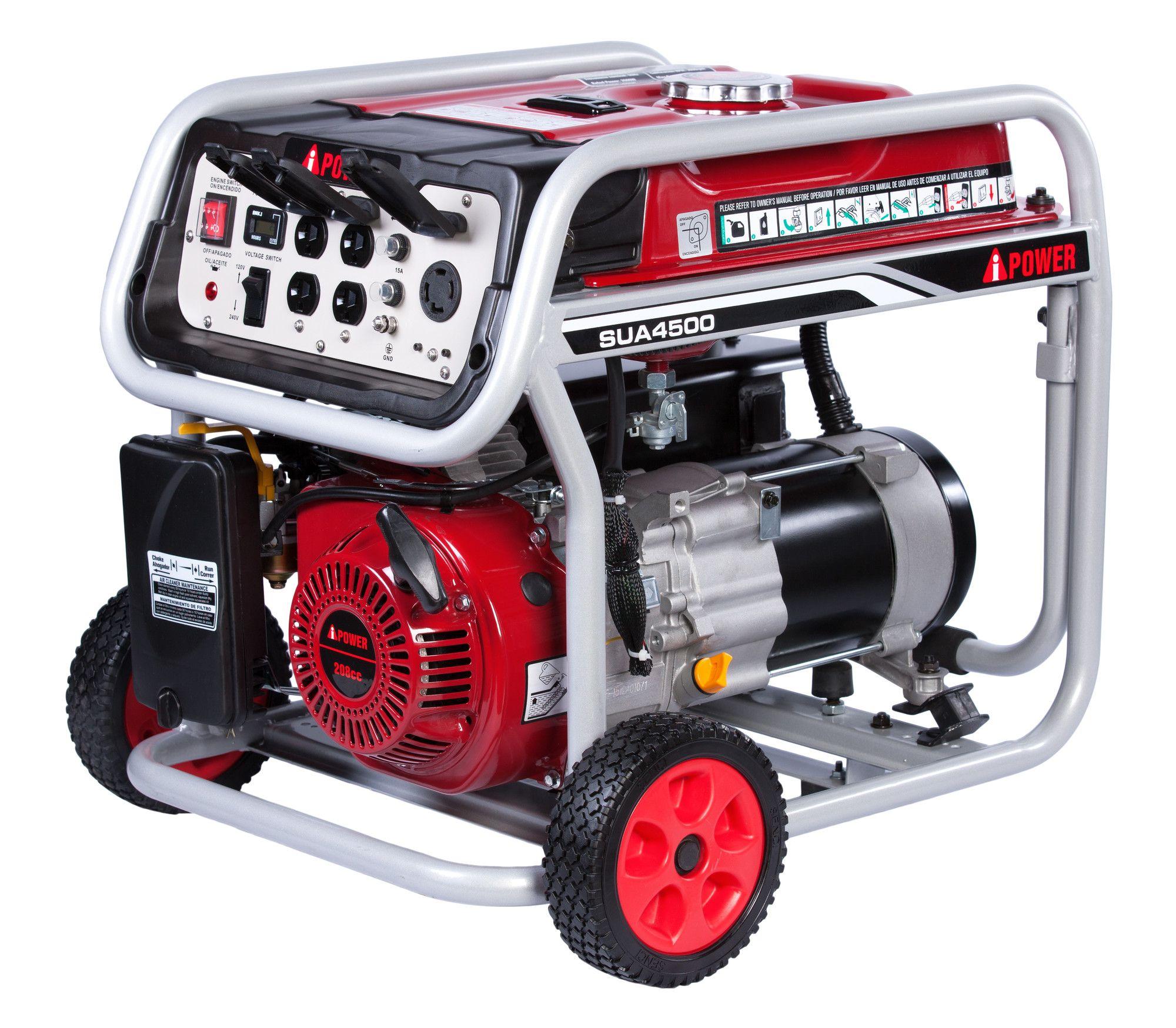 4500 Watt Portable Gasoline Generator Portable generator