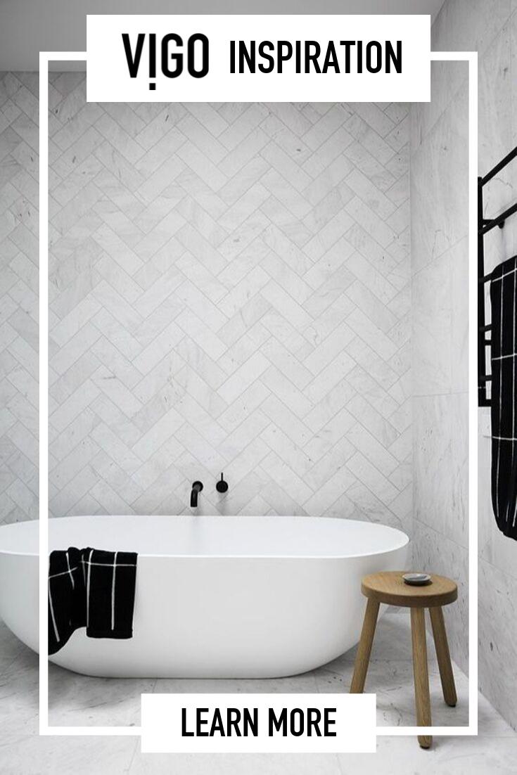 Choose Wisely Go For Vigo Sink Complete Your Bathroom With The Vigo Bathroom Faucet Click To See Mo With Images Modern Bathroom Modern Bathroom Tile Top Bathroom Design