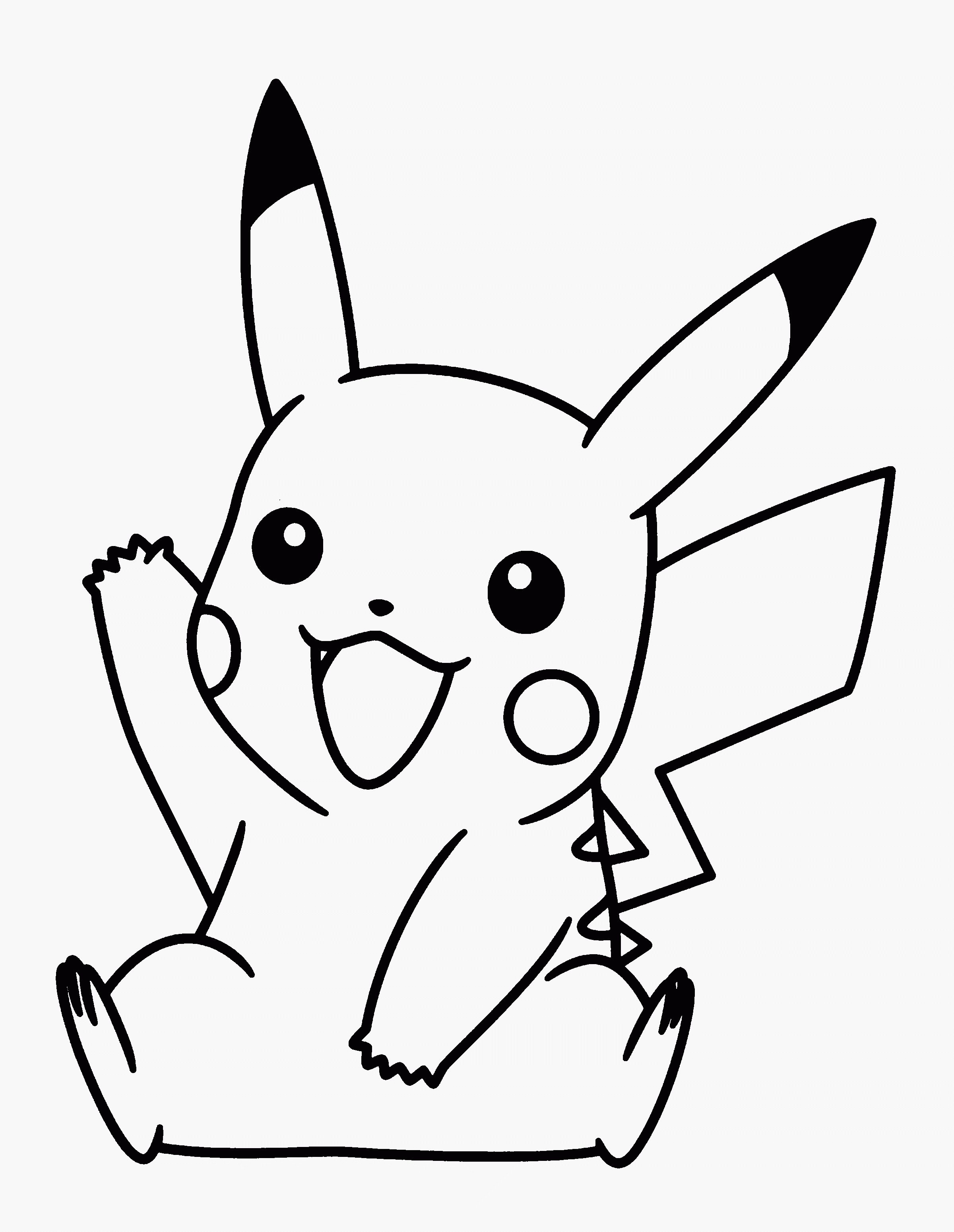 Cool Coloriage Pokemon Pikachu Coloriage Serapportantà