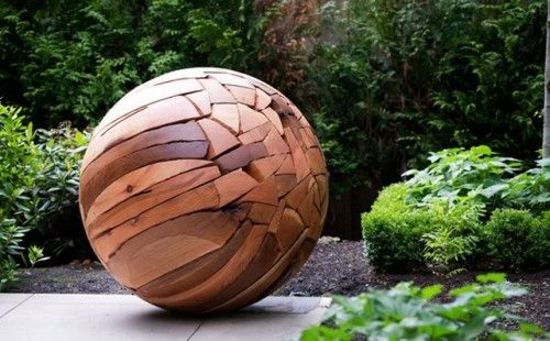Doesn T Everyone Need A Large Wooden Ball In The Garden I