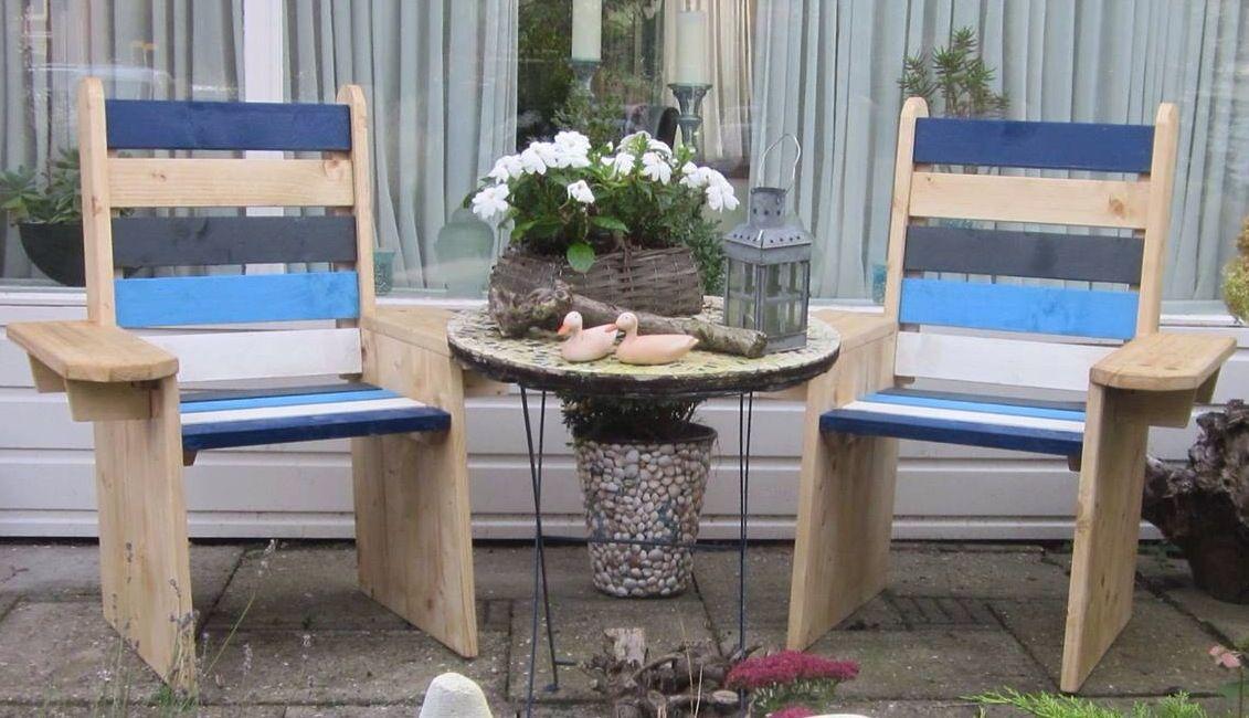 Leuke stoelen voor in mijn tuin