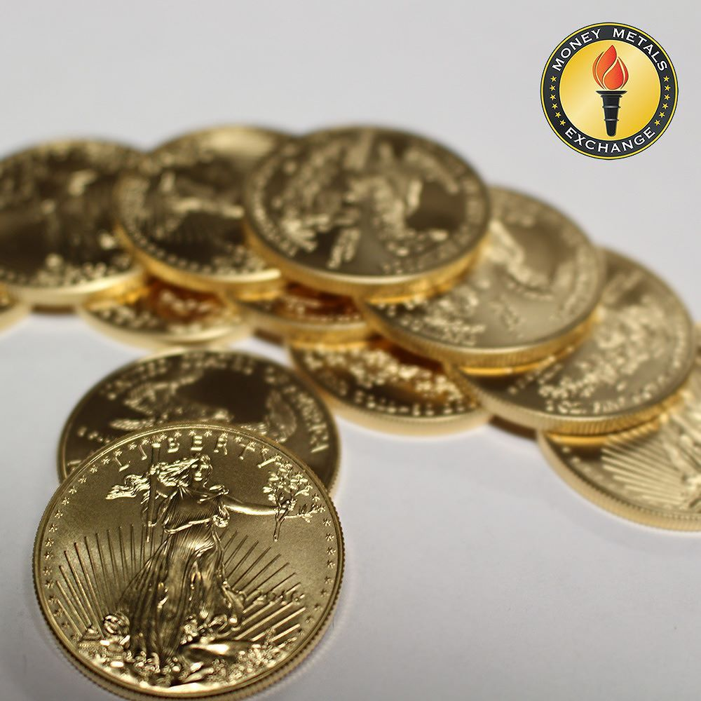 1 Oz Gold Coin American Gold Eagle Money Metals Exchange Gold Coins For Sale Gold Coins 1 Oz Gold Coin