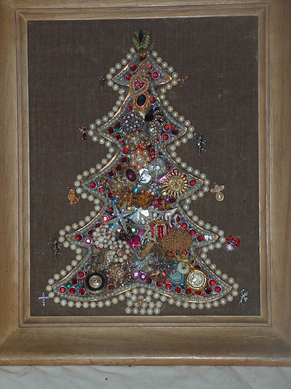 Pearl And Vintage Christmas Jewelry Merry Christmas Gems