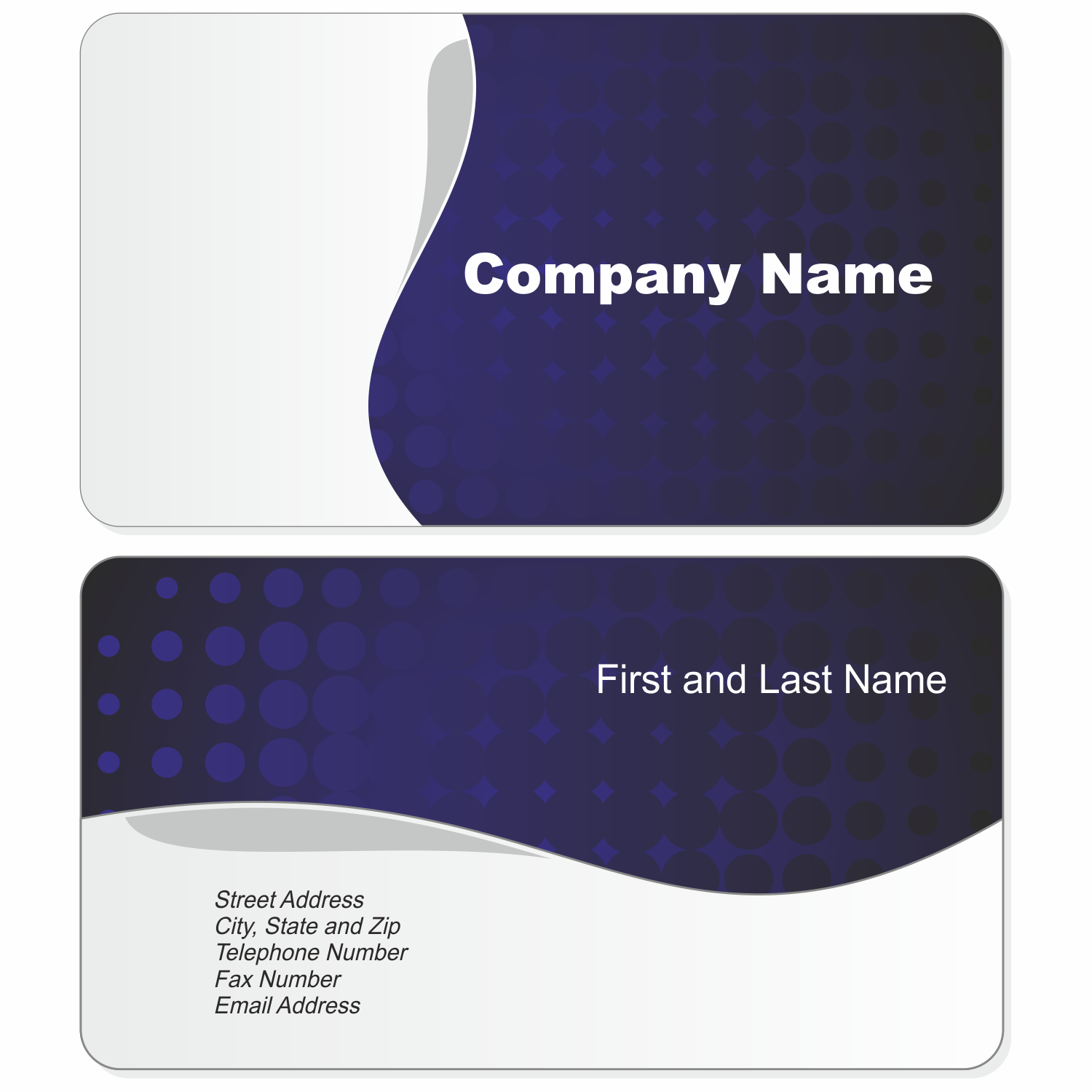 business cards free – quality business card design | free premium, Powerpoint templates