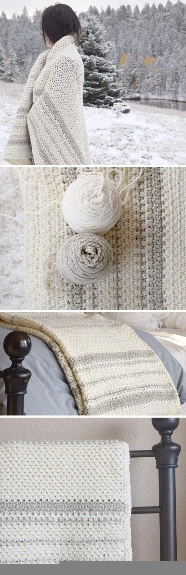 Cool & Easy Crochet Blankets With Lots of Tutorials and Patterns ...