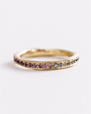 Slideshow 50 Unique Engagement Rings For The Offbeat Bride