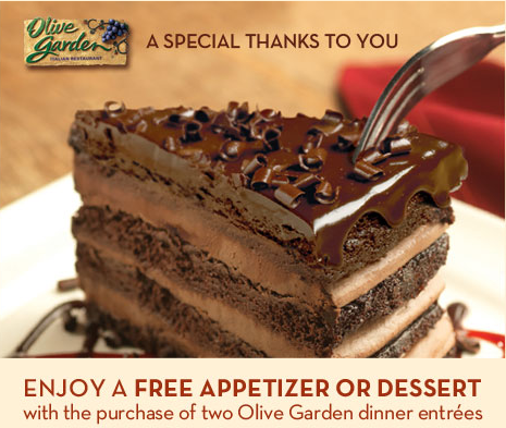 Found at www.bzbsaves.com   I LOVE Olive Garden!