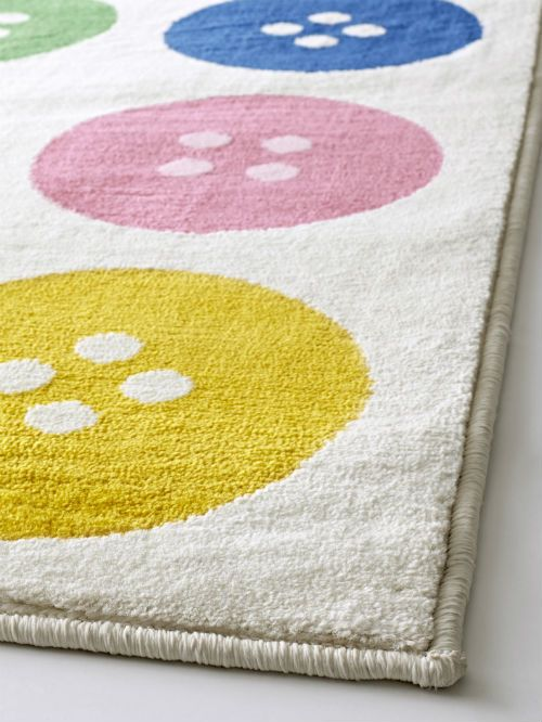 IKEA Fan Favorite: TÅSTRUP Low Pile Rug. This Fun Rug Is Made Of