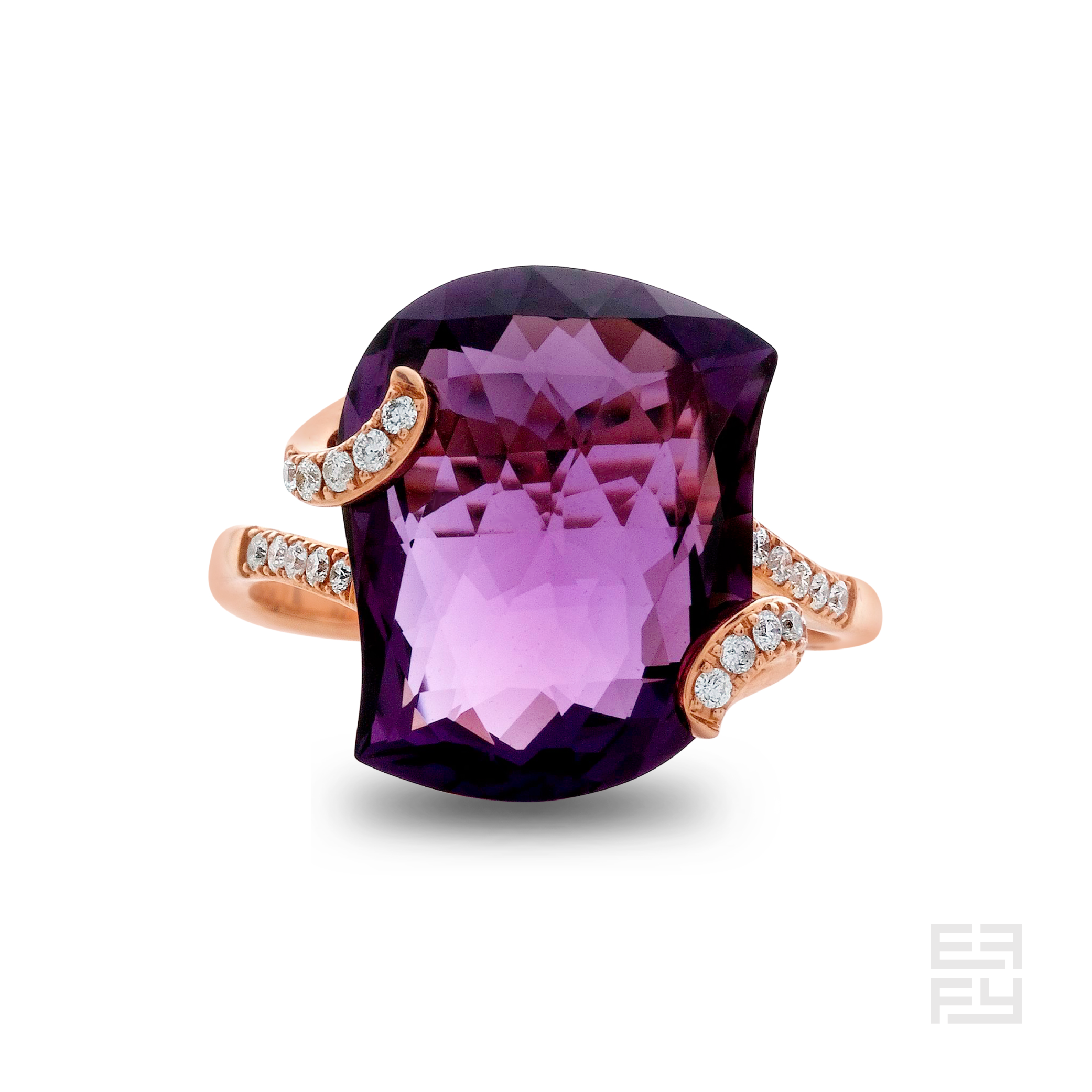 The amethyst sparkle on top of our Sunday best.  Available by Special Order 1.877.ASK.EFFY