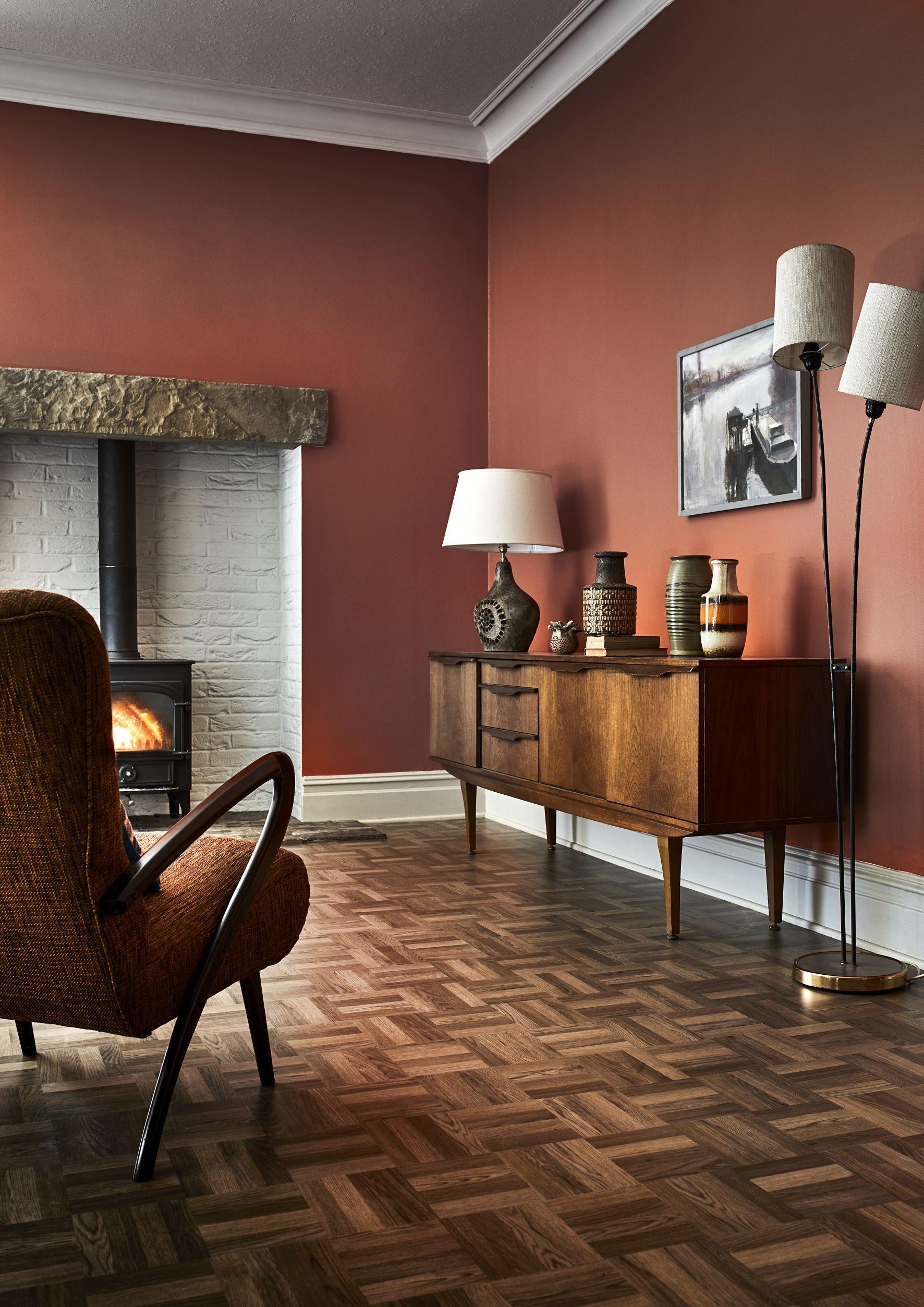 19 Dark And Atmospheric Decorating Ideas Living Room Orange