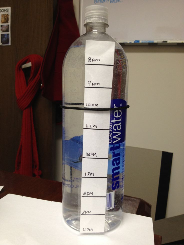 how many bottles of water to drink a day to lose weight