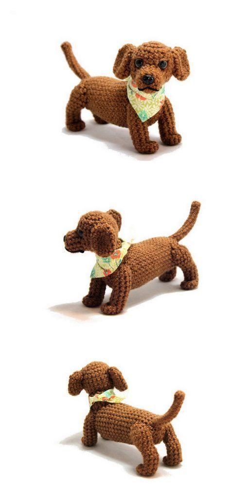 Amigurumi Sweet Dog Free Pattern | Crochet dog patterns, Crochet ... | 1024x512