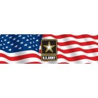 This Glasscapes US Army Rear Window Graphic is the perfect way to show your support for our US Armed Forces