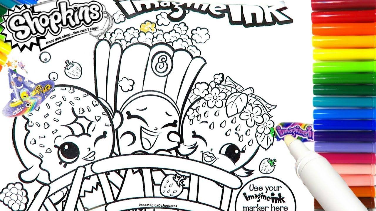 Rotulador Mágico de Shopkins Marcador Mágico de Shopkins de Imagine Ink ...